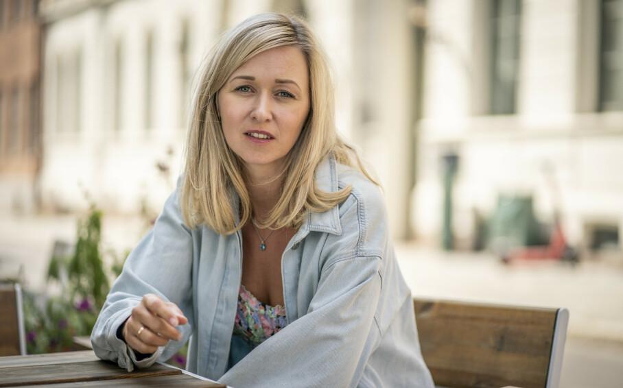 MARIE BLOKHUS: Vi møtte skuespiller Marie Blokhus, som er aktuell med hovedrolle i komedien Dianas bryllup, på Cinemateket i Oslo i august. FOTO: Heiko Junge / NTB scanpix