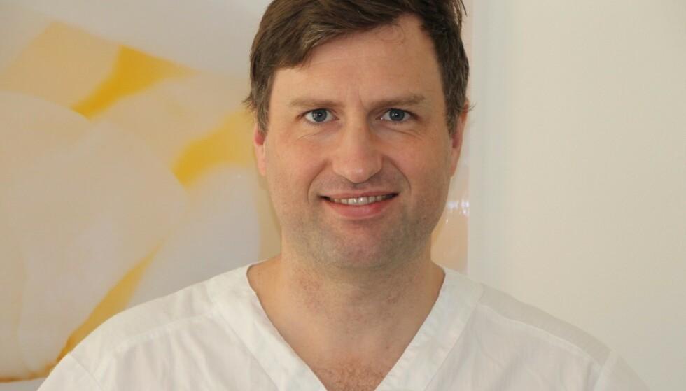 <strong>EKSPERT:</strong> Christopher Finne Riley er gynekolog ved det private helseforetaket Aleris. FOTO: Aleris