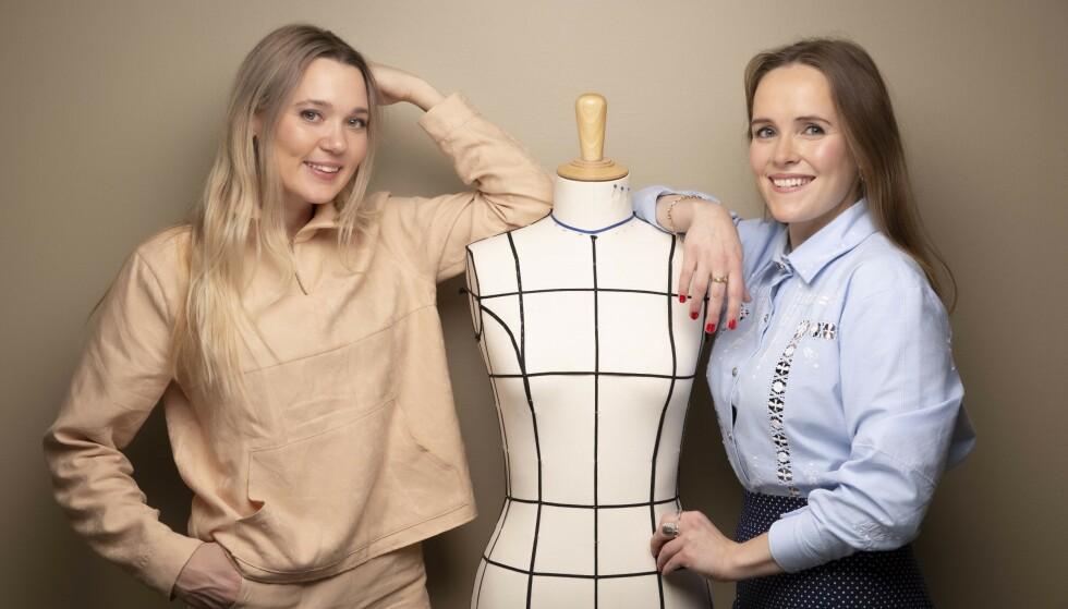 """DE """"NYE"""" SYDAMENE: Fra venstre: Ingrid Bergtun og Ingrid Vik Lysne. Foto: Agnete Brun"""