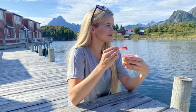 Sandra Lyng elsker is - det er bare én stor ulempe