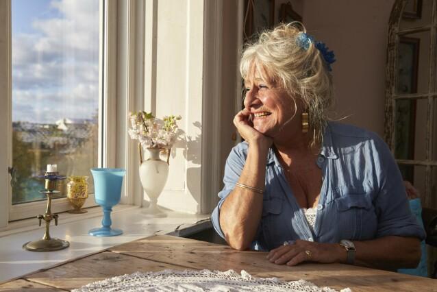 – Jeg har en brennende lengsel inni meg som er vanskelig å slukke. Jeg er veldig glad i menn, sier skuespiller Judith Rothenborg (70). FOTO: Thomas Laursen