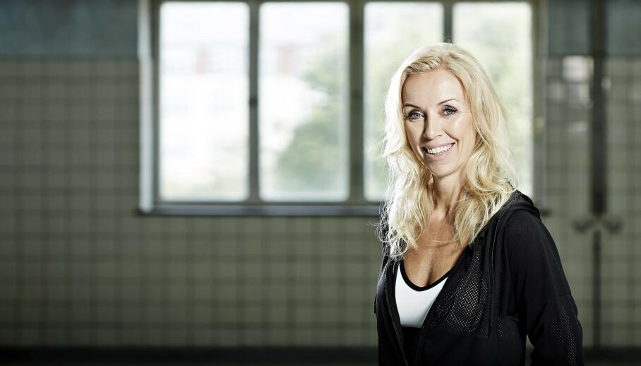 – Jeg vil veldig gjerne være et forbilde for dem som ønsker å ta vare på kroppen sin. Men jeg har ikke lyst til å være et forbilde for dem som vil bli mor i 40-årene, sier Lotte Arndal. FOTO: Flemming Gernyx