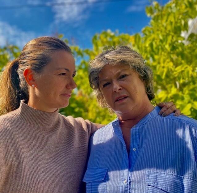 HVA SKJEDDE?: I 39 år har lillesøster Elsebeth og mamma Torunn lurt på hva som skjedde med Marianne, da hun forsvant på vei hjem fra iskremkiosen i Risør. FOTO: Privat