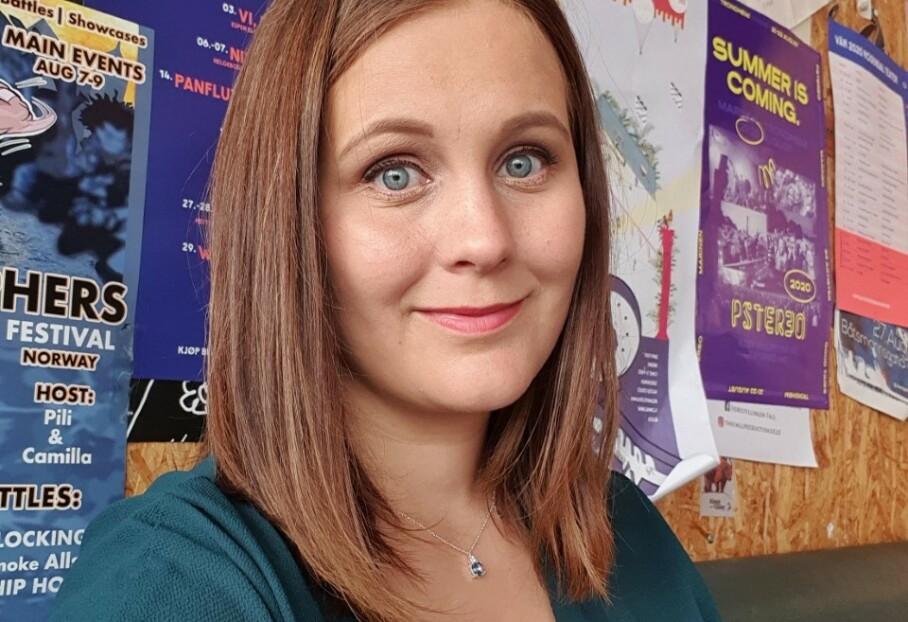 LAVT STOFFSKIFTE: Ragnhild var bare 27 år gammel da hun fikk de første symptomene på lavt stoffskifte. FOTO: Privat