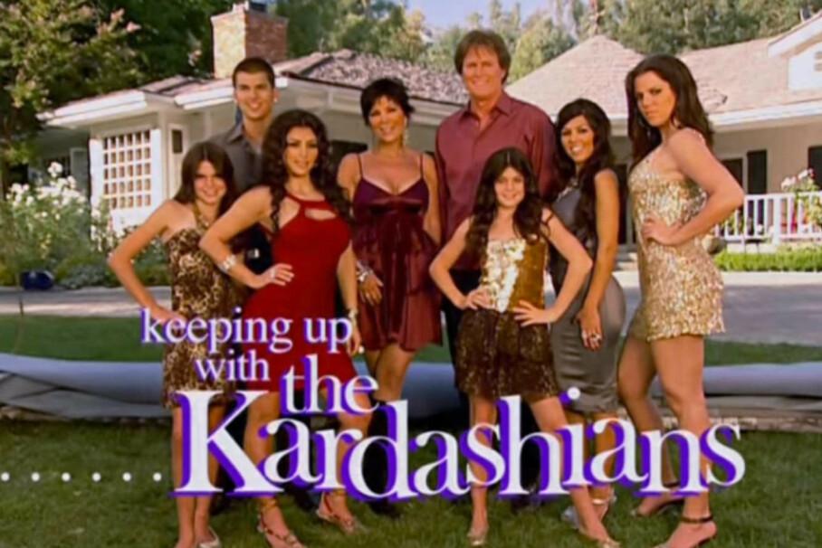 SLUTT FOR KARDASHIANS: Etter 20 sesonger, takker Kardashian-familien for seg. FOTO: E!