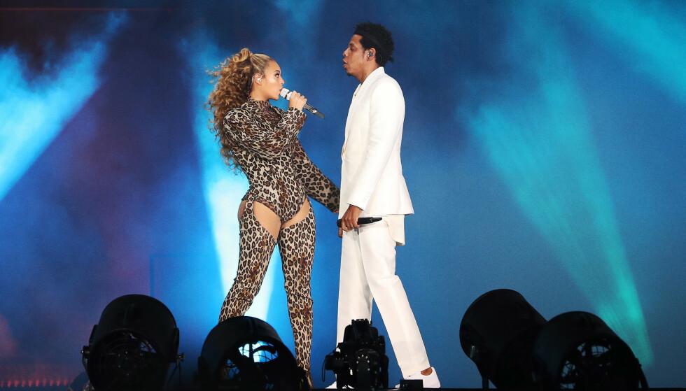 HUSKET STRØMREGNINGA? Det var neppe pengebemymringer Beyoncé og mannen Jay-Z sang om under konserten i København i 2018. FOTO: NTBScanpix