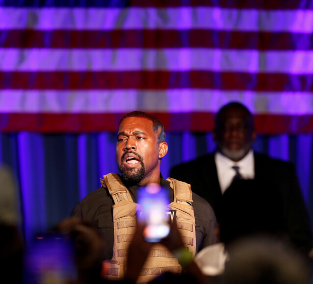 Kanye West. Foto: NTB Scanpix
