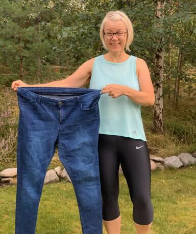 HAR HOLDT VEKTEN I TO ÅR: – Det er mye jubel, likes og positive kommentarer underveis når man går ned i vekt, men egentlig burde man få mer applaus for at man klarer å holde vekten etterpå, smiler Marianne. FOTO: Privat