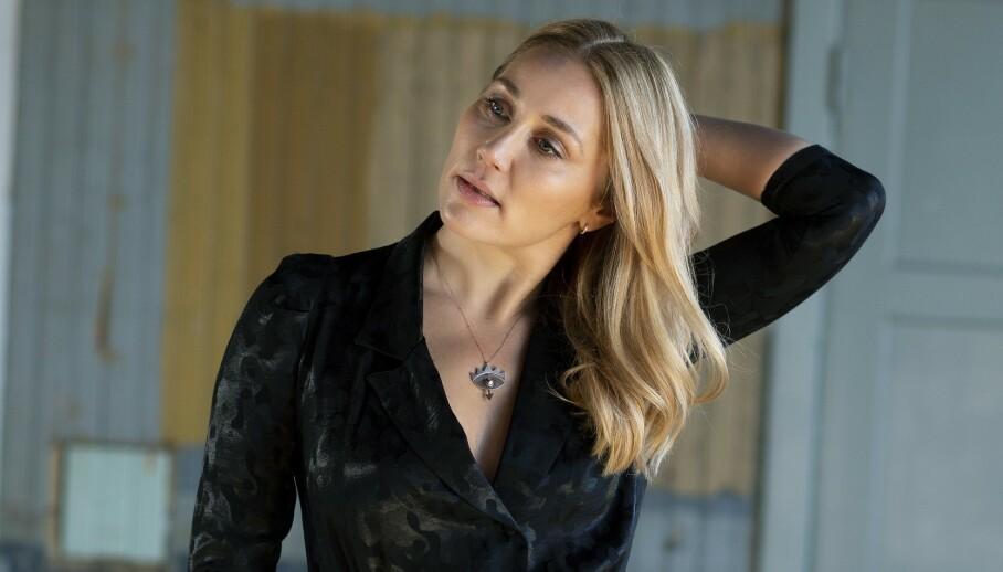 – Jeg synes ikke nødvendigvis at det å få barn er det viktigste i livet, sier skuespiller Ditte Ylva Olsen. FOTO: Nellie Møberg