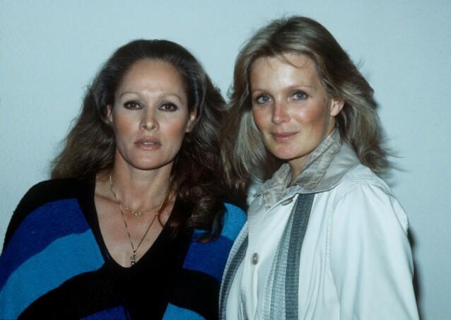 FELLES SKJEBNE: Ursula Andress og Linda Evans har begge datet John Derek, som siden forlot Evans til fordel for 16 år gamle Bo Derek. Her fra 1978. FOTO: NTBScanpix
