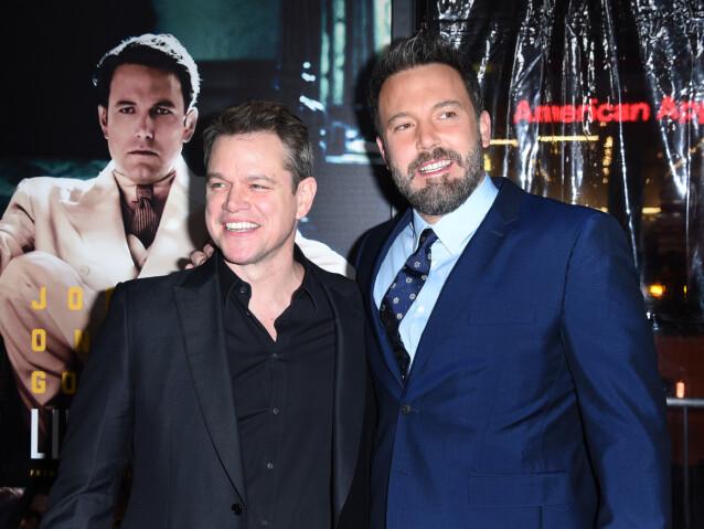 Matt Damon og Ben Affleck. Foto: NTB