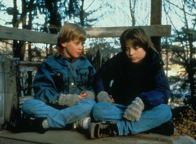 Macaulay Culkin (t.v.) og Elijah Wood. Foto: NTB