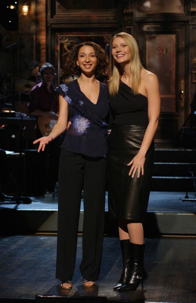 Maya Rudolph og Gwyneth Paltrow. Foto: NTB