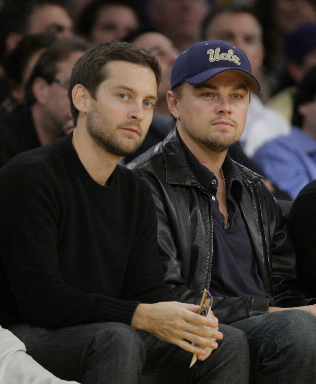 Tobey Maguire og Leonardo DiCaprio. Foto: NTB