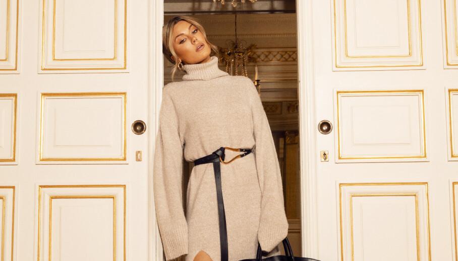 SLIPPER SAMARBEIDSKOLLEKSJON: Den svenske influenseren Bianca Ingrosso lanserer sin helt egne kolleksjon med Nelly. Foto: Nelly