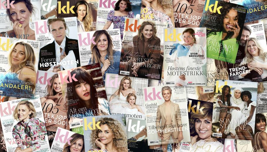 KK er Norges største kvinnemagasin og tilbyr alltid de beste historiene. Bestill et abonnement i dag og gled deg til å motta KK rett hjem i postkassen hver 14. dag.