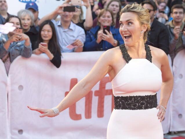 <strong>POPULÆR:</strong> Kate Winslet er blant de mest ettertraktede skuespillerne i bransjen. Foto: NTB