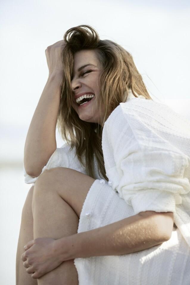 Er det lov å si at jeg er en versjon av meg selv som jeg liker ganske godt? sier Lise. FOTO: Astrid Waller