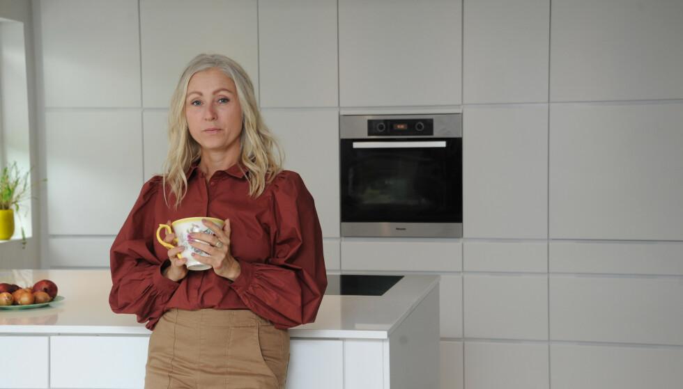 BALANSE: Overspising, shopping og reising var sentralt i Lines liv. Hun skjønte at hun måtte finne en balanse. FOTO: Marianne Otterdahl- Jensen