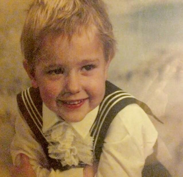 GUTTUNGE: - Barndommen var Emil i Lønneberget ganger ti, sier Kenneth til KK. Her fra da han var i treårsalderen. FOTO: Privat