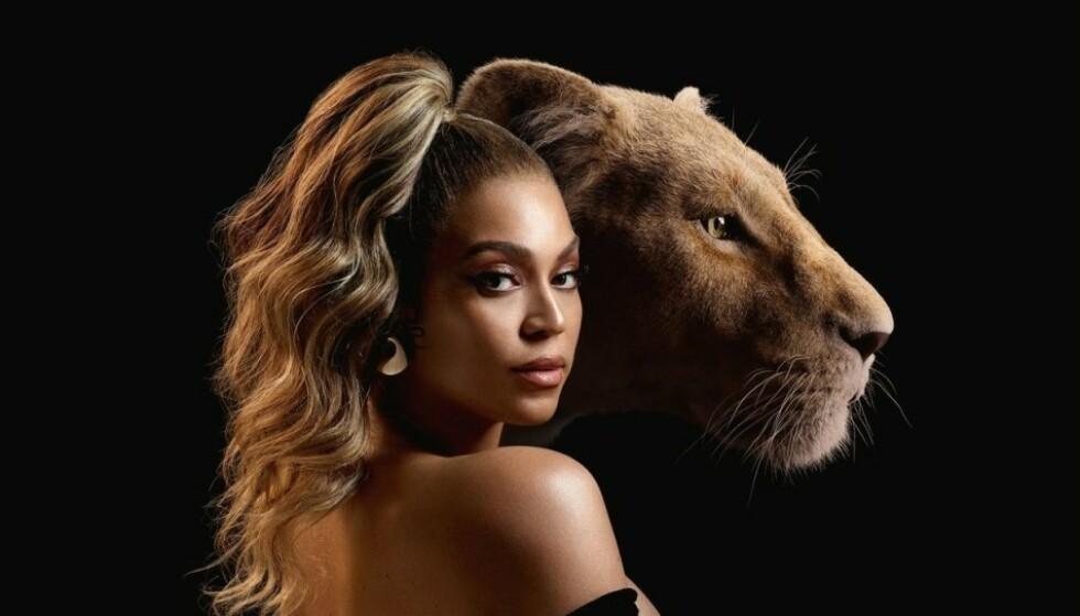 <strong>MJAU, MJAU:</strong> Selveste Beyoncé er blant kjendisene som har lånt bort stemmen sin til Disneys nye «Løvenes Konge». FOTO: Disney