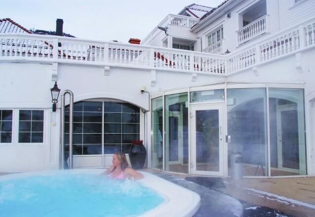 KLASSISK STIL: Dr. Holms Hotel på Geilo har lang historie som velværehotell. FOTO: Ronny Frimann