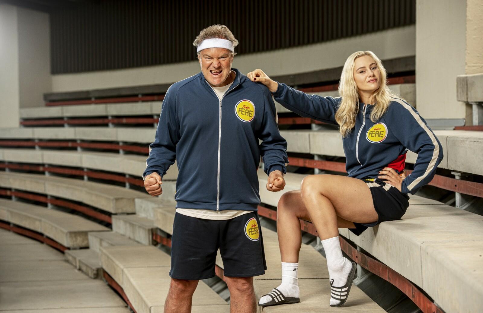 KONKURRANSEINSTINKT: Det altoppslukende konkuranseinstinktet har Mia Svele arvet av sin far, den tidligere håndballspilleren, Bent Svele. FOTO: Per Heimly / Nordisk Film TV / NRK