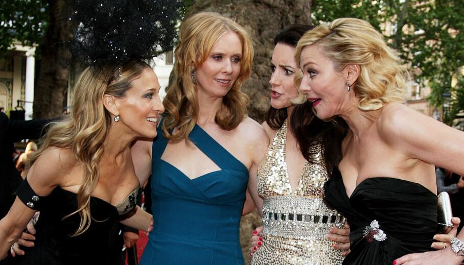SEX AND THE CITY: Disse stjernene kjenner du selvfølgelig igjen, men visste du at både Bradley Cooper og Matthew McConaughey har hatt roller i serien? Foto: NTB