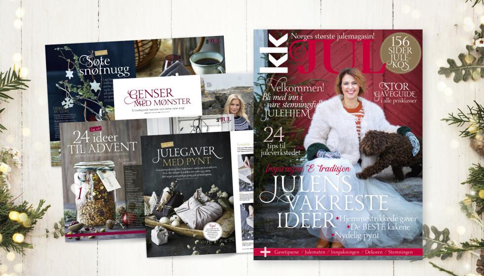 KK Jul er i salg fra mandag 5. oktober. Foto: Kristina Meyn Krogvold.