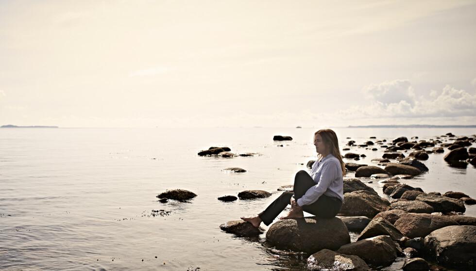 <strong>LIVSVALG:</strong> - Man kan jo si at det er dåpen som har forandret meg, men det handler om å ta et valg for seg selv. Det var et stort livsvalg, forteller Tania. FOTO: Geir Dokken