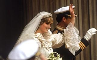 Avslører detaljer om Dianas brudekjole