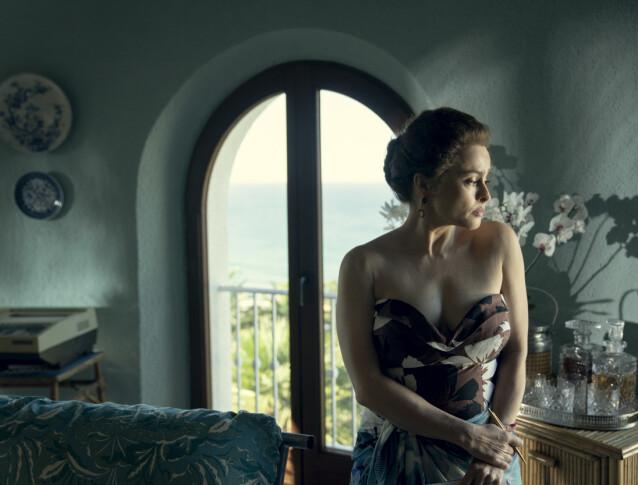 <strong>JET SET:</strong> Prinsesse Margaret spilles også i sesong 4 av Helena Bonham Carter. FOTO: Netflix