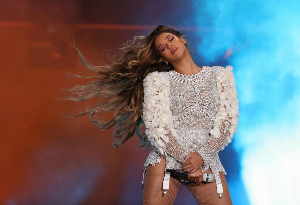 BEYONCÉ: Ta en titt i bildekarusellen nederst i saken for å se noen av Beyoncés mange antrekk gjennom nesten 20 år. FOTO: NTB