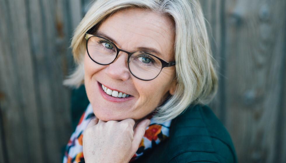 GJØR PLASS TIL GLEDEN: For Ada Sofie Austegard er det viktig å gi plass til latter og lek på senteret i Grimstad. Foto: Stian Herdal