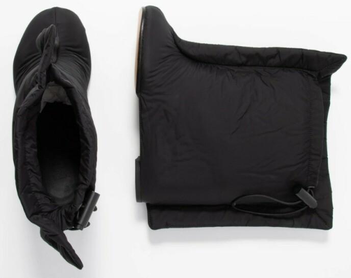 NY TREND? Vi har valgt å døpe disse skoene til soveposesko. Hva synes du om dem? Foto: Zalando