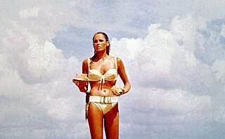 Den legendarisk Bond-bikinien skal auksjoneres bort