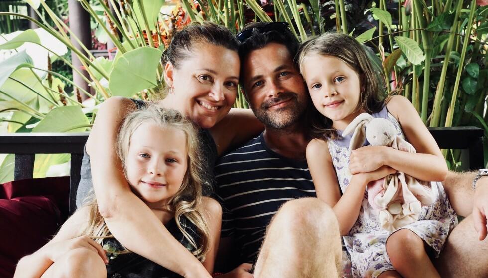 FAMILIEN: - Det verste var at stresset førte til at jeg manglet energi til barna, sier Mariann om tiden hun stod i full jobb.