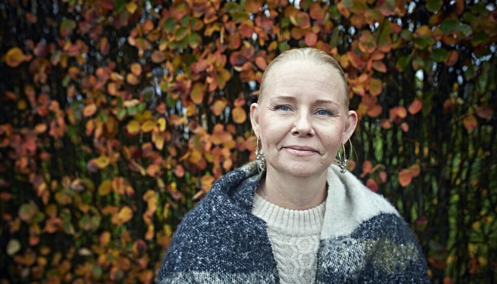 MAMMA: - Jeg kan endelig være den mammaen jeg har ønsket å være bestandig. FOTO: Geir Dokken
