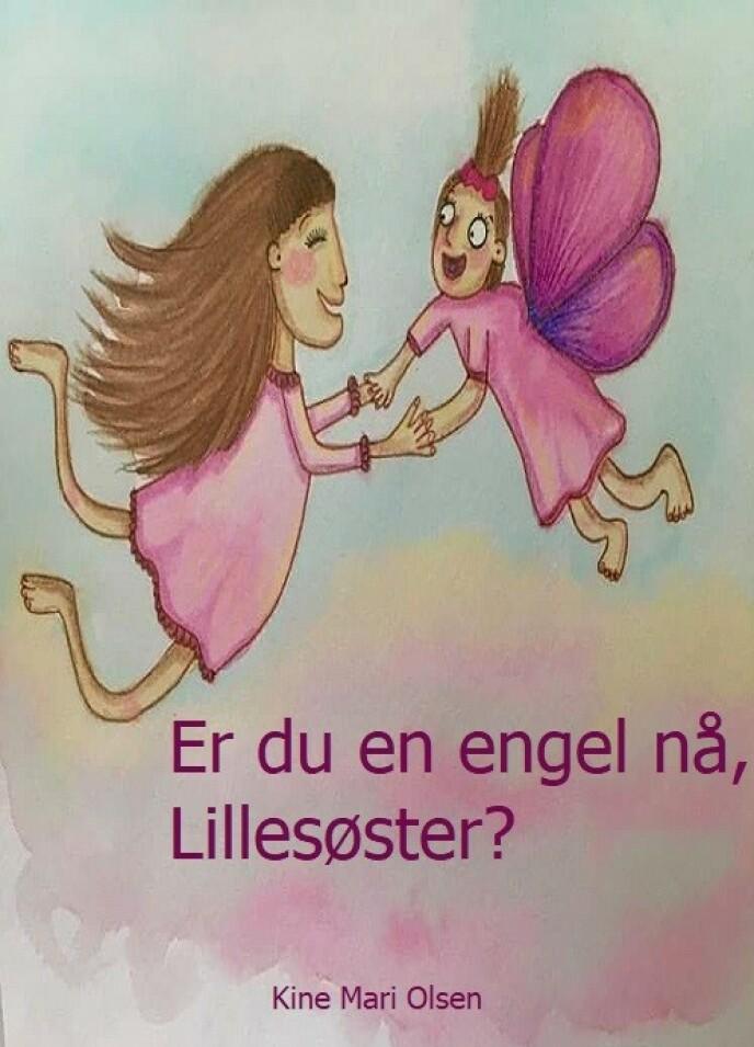 BOK OM SORG: Kines Olsens bok om barn og sorg kommer ut på nyåret men kan bestilles allerede nå på T. Elvestad forlag. FOTO: Mary Olsen