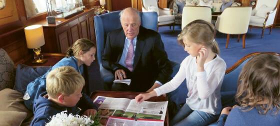 Se de private familiebildene tatt av dronning Sonja!