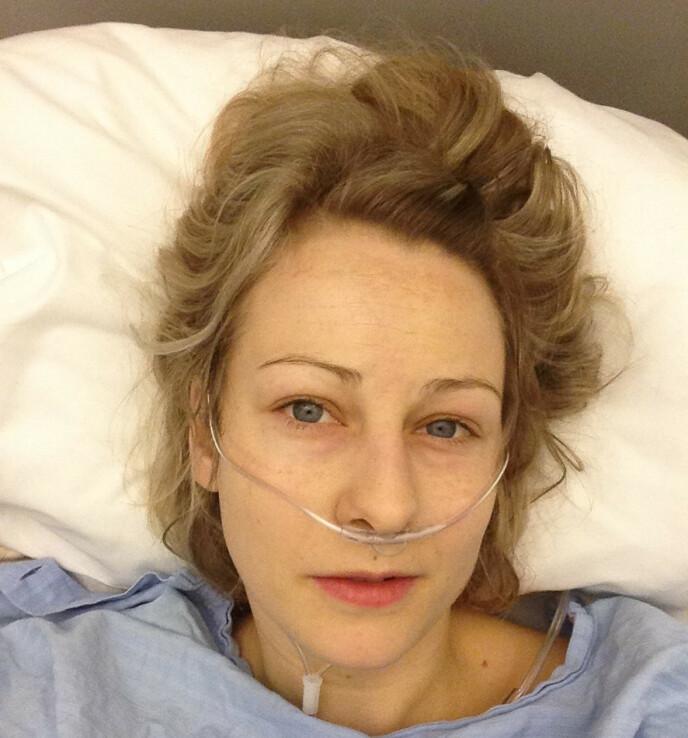 NYOPERERT: Hanne var mor til to små gutter da hun fikk livmorhalskreft. FOTO: Privat