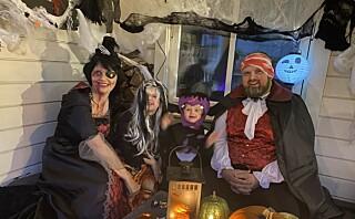 De nekter å la korona legge en demper på Halloween-feiringen