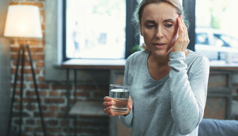 <strong>TIER:</strong> Mange kvinner velge å tie om overgangsalder-plagene. FOTO: Scanpix