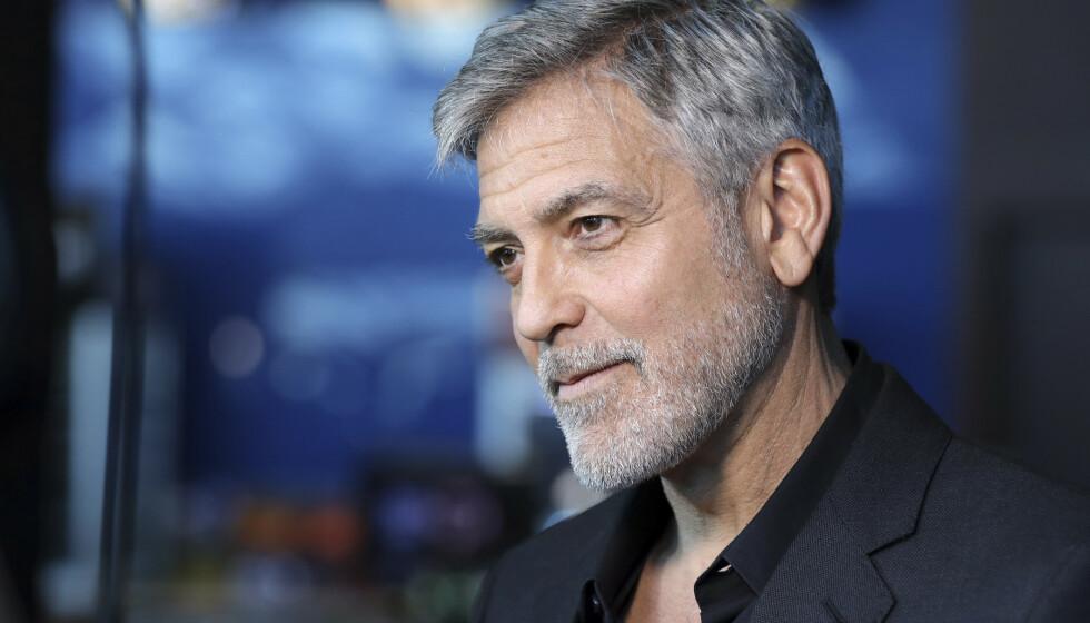 TAKKET NEI TIL THE NOTEBOOK: George Clooney har avslørt at han faktisk kunne hatt rollen som Noah Calhoun. Foto: NTB