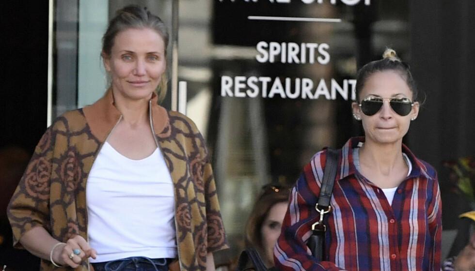 SÅ GODT SOM SØSTRE: Cameron Diaz hyller svigersøsteren sin på Instagram. FOTO: NTB