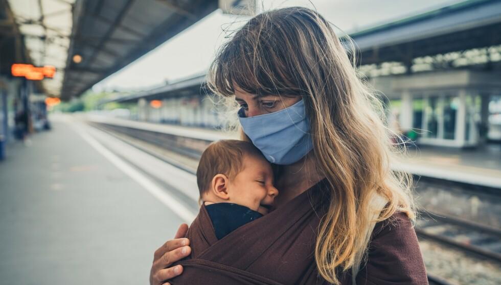 PSYKISK TØFT UNDER KORONAPANDEMIEN: Nye tall tyder på at koronapandemien har ført til flere fødselsdepresjoner. FOTO: NTB Scanpix