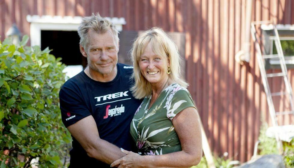God match: I den tyngste tiden fant Pamela og Christer ut hvordan de trivdes i hverandres selskap, og at de rett og slett hadde det gøy sammen. Foto: Anna Thors