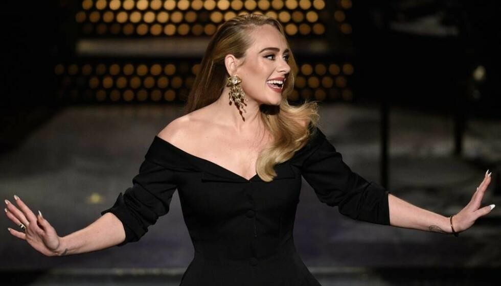 ADELE: Den taltenfulle britiske artisten Adele var vertinne under humorprogrammet Saturday Night Live i New York i slutten av oktober. FOTO: Will Heath/NBC