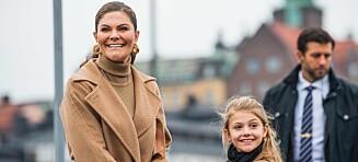Prinsesse Estelle dukket uventet opp på jobb med mamma