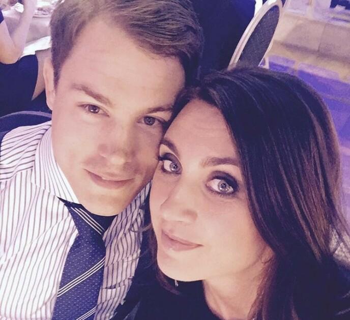 PENT PAR: Camilla og mannen Simon Sköld. FOTO: Skjermdump instagram